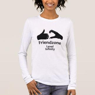Illustration Friendzone Level Infinity Long Sleeve T-Shirt