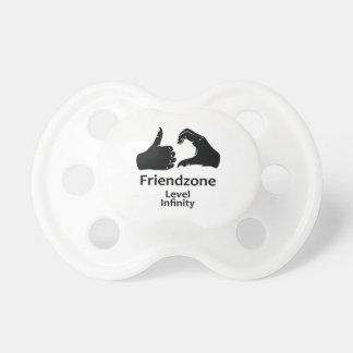 Illustration Friendzone Level Infinity Pacifier