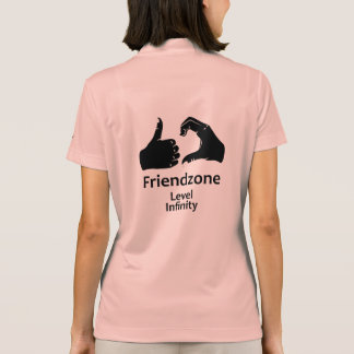 Illustration Friendzone Level Infinity Polo Shirt