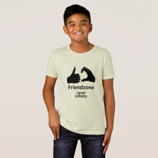 Illustration Friendzone Level Infinity T-Shirt