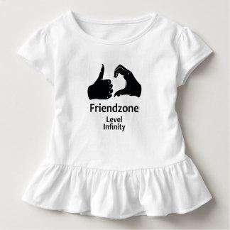 Illustration Friendzone Level Infinity Toddler T-shirt