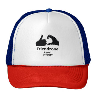 Illustration Friendzone Level Infinity Trucker Hat