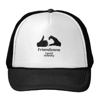 Illustration Friendzone Level Infinity Trucker Hat
