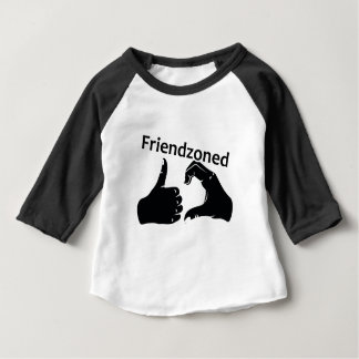 Illustration Friendzoned Hands Shape Baby T-Shirt