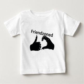 Illustration Friendzoned Hands Shape Baby T-Shirt