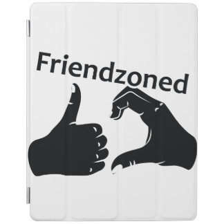 Illustration Friendzoned Hands Shape iPad Cover