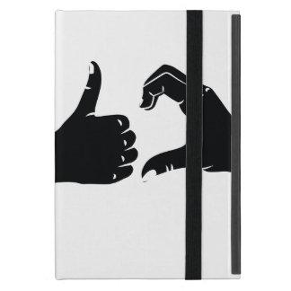 Illustration Friendzoned Hands Shape iPad Mini Covers