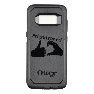 Illustration Friendzoned Hands Shape OtterBox Commuter Samsung Galaxy S8 Case
