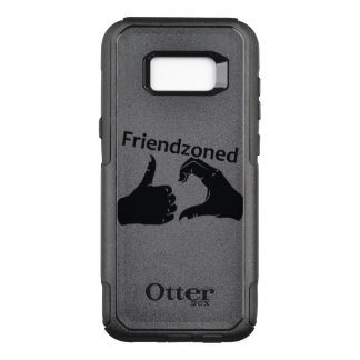 Illustration Friendzoned Hands Shape OtterBox Commuter Samsung Galaxy S8+ Case