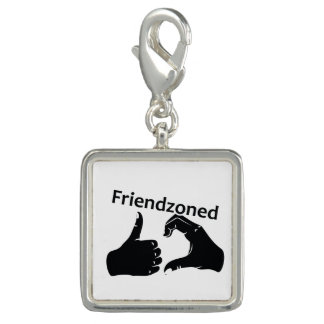 Illustration Friendzoned Hands Shape Photo Charm