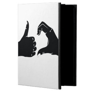 Illustration Friendzoned Hands Shape Powis iPad Air 2 Case
