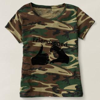 Illustration Friendzoned Hands Shape T-shirt