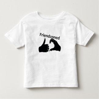 Illustration Friendzoned Hands Shape Toddler T-shirt