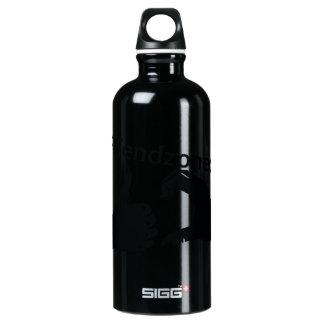 Illustration Friendzoned Hands Shape Water Bottle