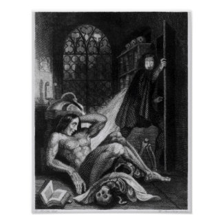 Illustration from 'Frankenstein' Poster