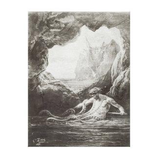 Illustration from 'Les Travailleurs de la Mer' Canvas Print