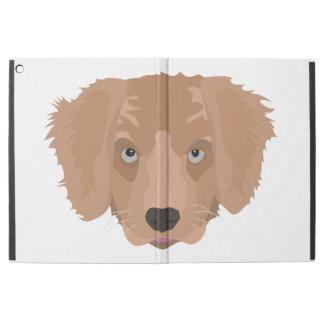 Illustration Golden Retriever Puppy