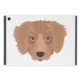 Illustration Golden Retriever Puppy iPad Mini Case