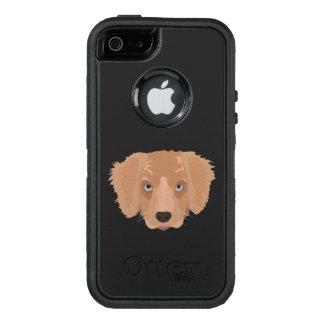 Illustration Golden Retriever Puppy OtterBox iPhone 5/5s/SE Case