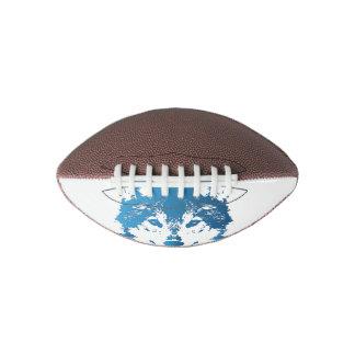 Illustration Ice Blue Wolf Football