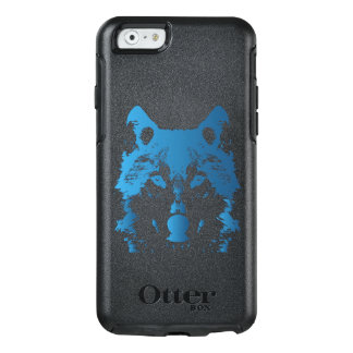 Illustration Ice Blue Wolf OtterBox iPhone 6/6s Case