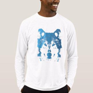 Illustration Ice Blue Wolf T-Shirt