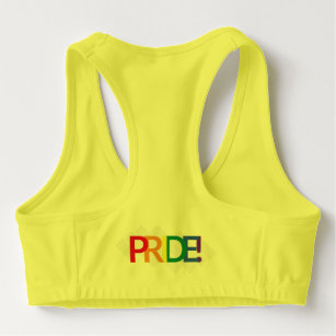 ebe1c9dc8f Illustration LGBT love is love pride Sports Bra