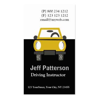 Illustration mignonne d'automobile de voiture cartes de visite professionnelles
