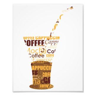Illustration moderne de café photographies