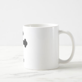 Illustration Of A Cross Coffee Mug