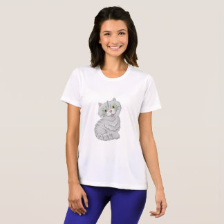 Illustration of a cute cat T-Shirt