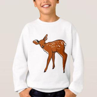 Illustration Of A Deer Sweatshirt