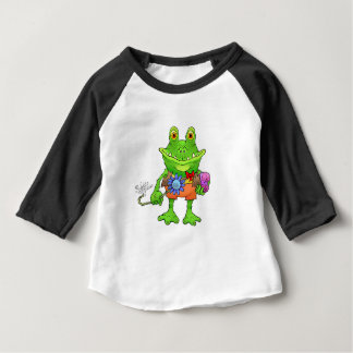 Illustration of a frog. baby T-Shirt