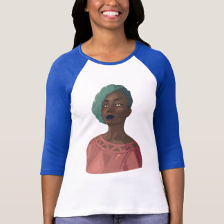 Illustration of a Woman T-Shirt