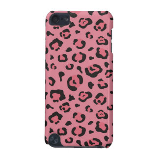 Illustration of Leopard Pink Animal iPod Touch (5th Generation) Cover