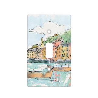 Illustration of Porofino Harbor Light Switch Cover