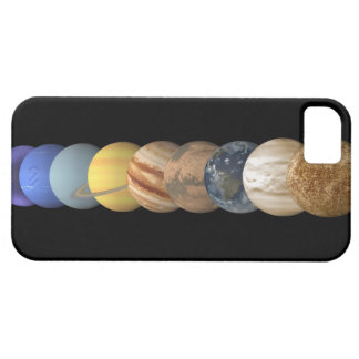 Illustration of the Planets in Alignment Case For The iPhone 5