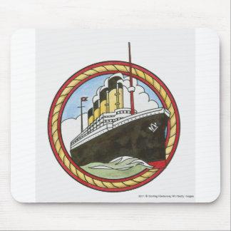 Illustration of Titanic Mouse Pad