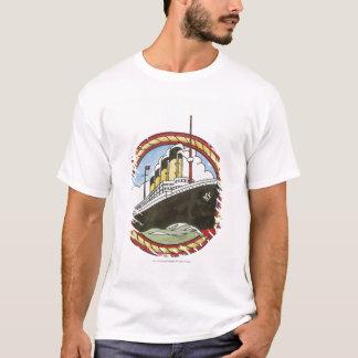 Illustration of Titanic T-Shirt