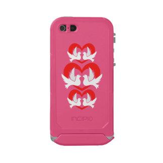Illustration peace doves with heart incipio ATLAS ID™ iPhone 5 case