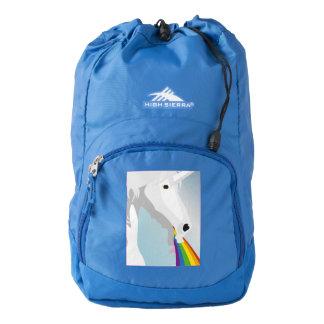 Illustration puking Unicorns Backpack