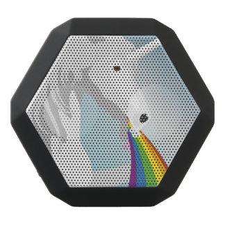 Illustration puking Unicorns Black Bluetooth Speaker