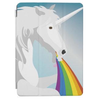Illustration puking Unicorns iPad Air Cover