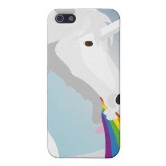 Illustration puking Unicorns iPhone 5 Case