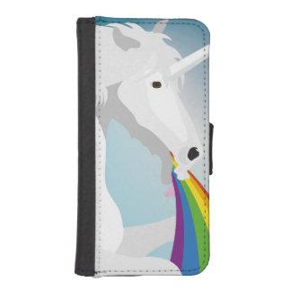 Illustration puking Unicorns iPhone SE/5/5s Wallet Case
