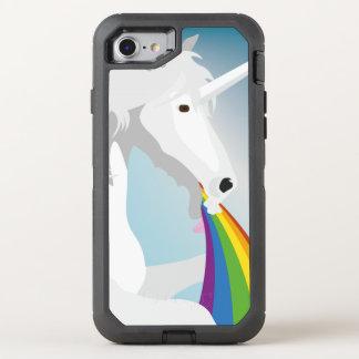 Illustration puking Unicorns OtterBox Defender iPhone 7 Case