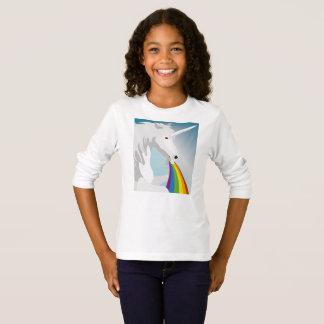 Illustration puking Unicorns T-Shirt