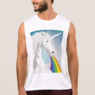 Illustration puking Unicorns Tank Top