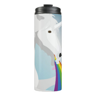 Illustration puking Unicorns Thermal Tumbler