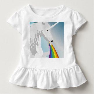 Illustration puking Unicorns Toddler T-shirt